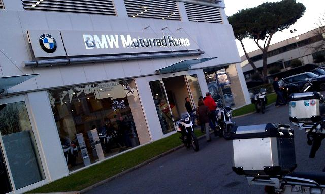 BMW GS 800/650 F in prova