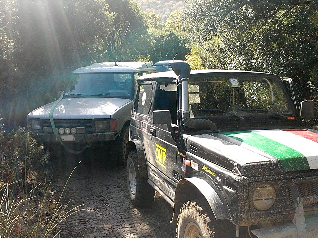 Tolfa in off su 4X4