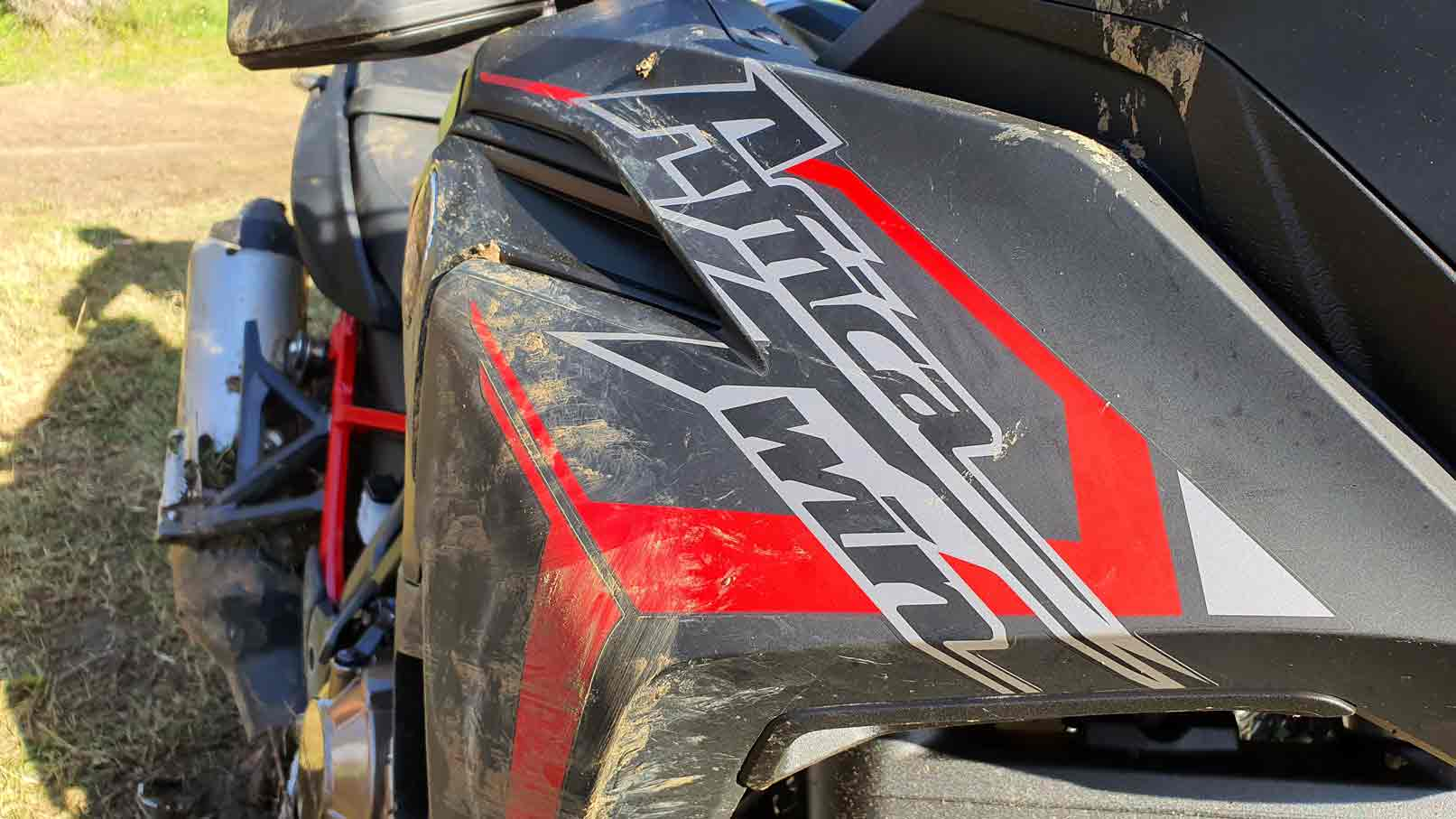 Prova Africa Twin 2019 in off con Ugo Filosa